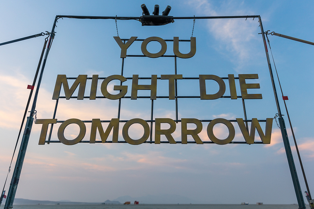 You Might Die Tomorrow by: Kate Manser from: Austin, TX year: 2018 My Burning Man 2018 Photos:<br /> https://Duncan.co/Burning-Man-2018<br /> <br /> My Burning Man 2017 Photos:<br /> https://Duncan.co/Burning-Man-2017<br /> <br /> My Burning Man 2016 Photos:<br /> https://Duncan.co/Burning-Man-2016<br /> <br /> My Burning Man 2015 Photos:<br /> https://Duncan.co/Burning-Man-2015<br /> <br /> My Burning Man 2014 Photos:<br /> https://Duncan.co/Burning-Man-2014<br /> <br /> My Burning Man 2013 Photos:<br /> https://Duncan.co/Burning-Man-2013<br /> <br /> My Burning Man 2012 Photos:<br /> https://Duncan.co/Burning-Man-2012