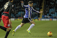 Ross Wallace (Sheffield Wednesday) during the Sky Bet Championship match between Sheffield Wednesday and Queens Park Rangers at Hillsborough, Sheffield, England on 23 February 2016. Photo by Mark P Doherty.