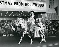 1977 Santa Claus Lane Parade on Hollywood Blvd.