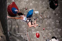 KRAMPL Mia of Slovenia during Finals IFSC World Cup Competition in sport climbing Kranj 2019, on September 29, 2019 in Arena Zlato polje, Kranj, Slovenia. Photo by Peter Podobnik / Sportida