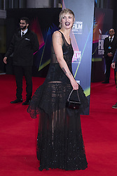 Agathe Rousselle attending the Titane Premiere as part of the 65th BFI London Film Festival at the Royal Festival Hall in London, England on October 09, 2021. Photo by Aurore Marechal/ABACAPRESS.COM