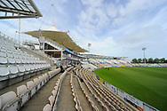 The Ageas Bowl stadium before the Specsavers County Champ Div 1 match between Hampshire County Cricket Club and Surrey County Cricket Club at the Ageas Bowl, Southampton, United Kingdom on 6 September 2017. Photo by Graham Hunt.