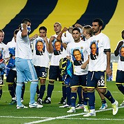Fenerbahce's players during their Turkish superleague soccer match Fenerbahce between Orduspor at the Sukru Saracaoglu stadium in Istanbul Turkey on Monday 12 September 2011. Fenerbahce played spectators match through suspension. Photo by TURKPIX
