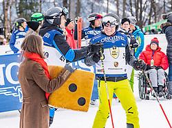 25.01.2020, Streif, Kitzbühel, AUT, FIS Weltcup Ski Alpin, im Bild v.l. Oliver Blume, Andreas Haffner // f.l. Oliver Blume and Andreas Haffner during the KitzCharityTrophy 2020 at the Streif in Kitzbühel, Austria on 2020/01/25. EXPA Pictures © 2020, PhotoCredit: EXPA/ Stefan Adelsberger