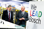 Pictured is the visit of Rt Hon Keir Starmer MP, Shadow Secretary of State for Exiting the European Union on January 24th 2019. at Worcester Bosch HQ in Worcester. Picture by Shaun Fellows / Shine Pix
