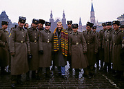 Annie Lennox in Red Square - Moscow 1989