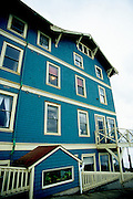 Image of the Sylvia Beach Hotel in Newport, Oregon, Pacific Northwest by Andrea Wells