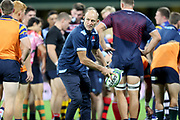 Waratahs Co-Coach Chris Whitaker. NSW Waratahs v ACT Brumbies. 2021 Super Rugby AU Round 7 Match. Played at Sydney Cricket Ground on Friday 2 April 2021. Photo Clay Cross / photosport.nz