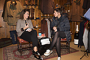 SOPHIE MONEY-COUTTS; EVE JONES, Tatler and Dubarry host an evening with Clare Balding, Dubarry of Ireland, 34 Duke of York's Sq. London. 13 October 2016.