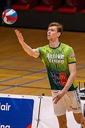 Jannes van der Ham of Orion in action during the semi cupfinal between Active Living Orion vs. Amysoft Lycurgus on April 03, 2021 in Saza Topsportshall Doetinchem