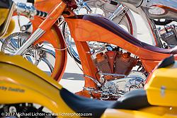Paul Yaffe's Baddest Bagger bike show during Biketoberfest. Daytona Beach, FL, USA. Thursday October 19, 2017. Photography ©2017 Michael Lichter.