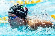 CUSINATO Ilaria ITA Italy<br /> Gwangju South Korea 21/07/2019<br /> Swimming 4x100 freestyle relay men<br /> 18th FINA World Aquatics Championships<br /> Nambu University Aquatics Center <br /> Photo © Giorgio Scala / Deepbluemedia / Insidefoto