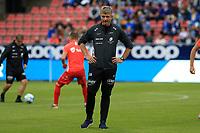 Fotball , 15. juni 2019 , Eliteserien,<br />Haugesund - Brann Bergen<br />Lars Arne Nilsen fra Brann Bergen før kampen mot Haugesund.<br />Foto: Andrew Halseid Budd , Digitalsport