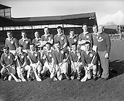 Railway Cup Final, Munster v Leinster. Munster Team..17.03.1961
