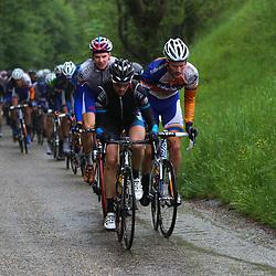 Olympia Tour Bocholtz-Voerendaal beklimming Doodeman met Dries Hollanders, Dylan van Baarle en Stefan Poutmsa