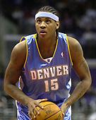 NBA-Denver Nuggets at LA Clippers-Dec 31 2003