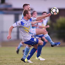BRISBANE, AUSTRALIA - JANUARY 24:  during the Kappa Silver Boot Semi Final match between Brisbane Strikers and Brisbane City on January 24, 2018 in Brisbane, Australia. (Photo by Patrick Kearney)