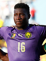 Cameroon's Andre Onana during international friendly match. June 13,2017.(ALTERPHOTOS/Acero)