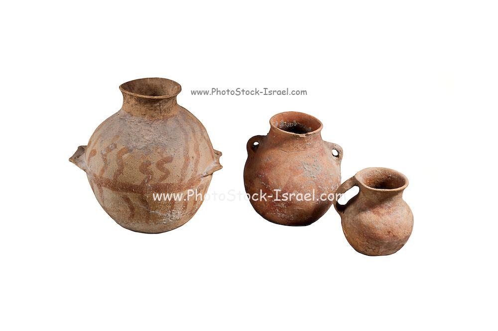 Canaanite Ceramic storage jars circa 2000 BCE