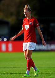 Yana Daniels of Bristol City- Mandatory by-line: Nizaam Jones/JMP - 27/10/2019 - FOOTBALL - Stoke Gifford Stadium - Bristol, England - Bristol City Women v Tottenham Hotspur Women - Barclays FA Women's Super League