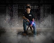 Hunter Davidson Senior Portrait