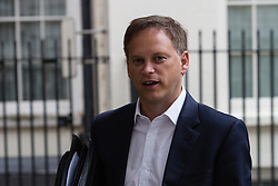 © Licensed to London News Pictures. 01/09/2014. London, UK. Grant Shapps arrives at 10 Downing Street in London on 1 September 2014. Photo credit : Vickie Flores/LNP/**/2014. London, UK. Caption goes here. Photo credit : Vickie Flores/LNP