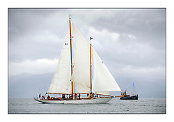 Day one of the Fife Regatta, Round Cumbraes Race.<br /> <br /> Astor, Richard Straman, USA, Schooner, Wm Fife 3rd, 1923<br /> * The William Fife designed Yachts return to the birthplace of these historic yachts, the Scotland's pre-eminent yacht designer and builder for the 4th Fife Regatta on the Clyde 28th June–5th July 2013<br /> <br /> More information is available on the website: www.fiferegatta.com