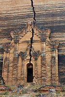 Myanmar (ex Birmanie), Mandalay, Site de Mingun, Paya Mingun  // Myanmar (Burma), Mandalay, Mingun site, Paya Mingun