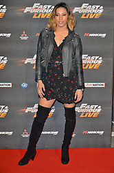 © Licensed to London News Pictures. 19/01/2018. London, UK. attends the world premiere of Fast & Furious live show at the O2.  Cars will perform stunts and scenes capturing the spirit of the film series. Photo credit: Ray Tang/LNP