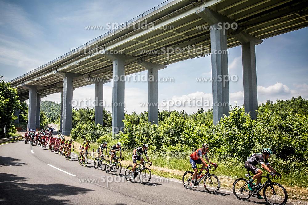 Ravbarkomanda bridge during Stage 1 of 24th Tour of Slovenia 2017 / Tour de Slovenie from Koper to Kocevje (159,4 km) cycling race on June 15, 2017 in Slovenia. Photo by Vid Ponikvar / Sportida
