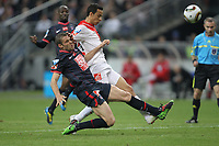 FOOTBALL - FRENCH CUP 2009/2010 - FINAL - PARIS SAINT GERMAIN v AS MONACO - 1/05/2010 - PHOTO ERIC BRETAGNON / DPPI -  NENE (MO) / SYLVAIN ARMAND (PSG)
