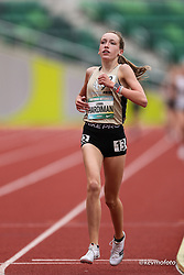 2021 High School Nationals<br /> NSAF Outdoor Track and Field Championship<br /> winner, 9th overall, heat 1 Middle School Girls Mile 5:12.70<br /> Virginia Pride TC, VA