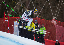19.12.2013, Saslong, Groeden, ITA, FIS Ski Weltcup, Groeden, Abfahrt, Herren, 2. Traininglauf, im Bild Markus Duerager (AUT) // Markus Duerager of Austria in action during mens 2nd downhill practice of the Groeden FIS Ski Alpine World Cup at the Saslong Course in Gardena, Italy on 2012/12/19. EXPA Pictures © 2013, PhotoCredit: EXPA/ Johann Groder