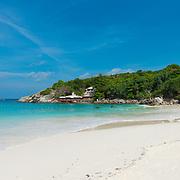 Patok bay idyllic beach in Ko Raya island, Thailand
