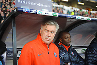 FOOTBALL - FRENCH CUP 2011/2012 - 1/32 FINAL - LOCMINE v PARIS SAINT GERMAIN - 8/01/2012 - PHOTO PASCAL ALLEE / DPPI - THE NEW HEAD COACH OF PARIS CARLO ANCELOTTI