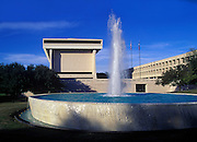 Image of the Lyndon Baines Johnson Library and Museum at the University of Texas in Austin, Texas, American Southwest by Randy Wells