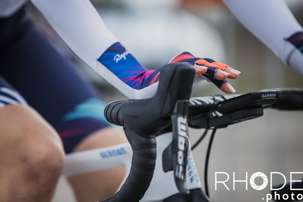 Omer Shapira (ISR/Canyon SRAM) pre race <br /> <br /> Healthy Ageing Tour (NED) 2021<br /> UCI Women Elite 2.1<br /> Stage 2 : Individual Time Trial (ITT) – Lauwersoog – Het Hoogeland 14.4km<br /> <br /> ©RhodePhoto