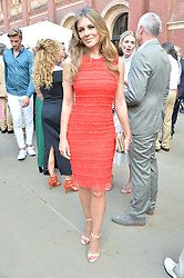 Liz Hurley at the V&A Summer Party 2017 held at the Victoria & Albert Museum, London England. 21 June 2017.<br /> Photo by Dominic O'Neill/SilverHub 0203 174 1069 sales@silverhubmedia.com
