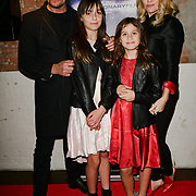 Sean Cronin and Sarina Taylor with her daughter arrivers at Eleven Film Premiere at Picture House Central, Piccadilly Circus on 10 November 2018, London, Uk.
