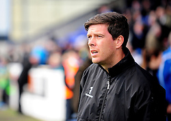 Bristol Rovers Manager, Darrell Clarke - Photo mandatory by-line: Neil Brookman/JMP - Mobile: 07966 386802 - 22/11/2014 - Sport - Football - Chester - Deva Stadium - Chester v Bristol Rovers - Vanarama Football Conference