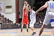DESCRIZIONE : Campionato 2014/15 Serie A Beko Dinamo Banco di Sardegna Sassari - Giorgio Tesi Group Pistoia<br /> GIOCATORE : Valerio Amoroso<br /> CATEGORIA : Tiro Tre Punti<br /> SQUADRA : Giorgio Tesi Group Pistoia<br /> EVENTO : LegaBasket Serie A Beko 2014/2015 <br /> GARA : Dinamo Banco di Sardegna Sassari - Giorgio Tesi Group Pistoia<br /> DATA : 01/02/2015 <br /> SPORT : Pallacanestro <br /> AUTORE : Agenzia Ciamillo-Castoria/C.Atzori <br /> Galleria : LegaBasket Serie A Beko 2014/2015