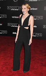 December 10, 2016 - Los Angeles, California, United States - December 10th 2016 - Los Angeles California USA - HARLEY QUINN SMITH    at the World Premiere for ''Rogue One Star Wars'' held at the Pantages Theater, Hollywood, Los Angeles  CA (Credit Image: © Paul Fenton via ZUMA Wire)