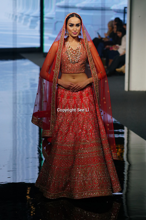 The Europe biggest National Asian Wedding Show with hundreds of stall, fasNeetikas showcases latest collection at the National Asian Wedding Show on 11th Novmber 2017, Olympia London. hion show on 11th Novmber 2017, Olympia London.