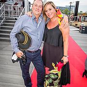 NLD/Amsterdam//20170522 - Film premiere  Pirates of the Caribbean, Selma van Dijk en partner Tom Keizer