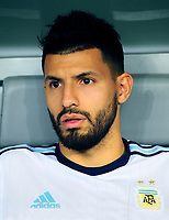 "Conmebol - World Cup Fifa Russia 2018 Qualifier / <br /> Argentina National Team - Preview Set - <br /> Sergio Leonel ""Kun"" Agüero"