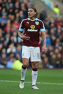 Jeff Hendrick of Burnley looks on. Premier League match, Burnley v Everton at Turf Moor in Burnley , Lancs on Saturday 22nd October 2016.<br /> pic by Chris Stading, Andrew Orchard sports photography.
