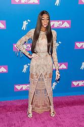 August 21, 2018 - New York City, New York, USA - 8/20/18.Winnie Harlow at the 2018 MTV Video Music Awards at Radio City Music Hall in New York City. (Credit Image: © Starmax/Newscom via ZUMA Press)