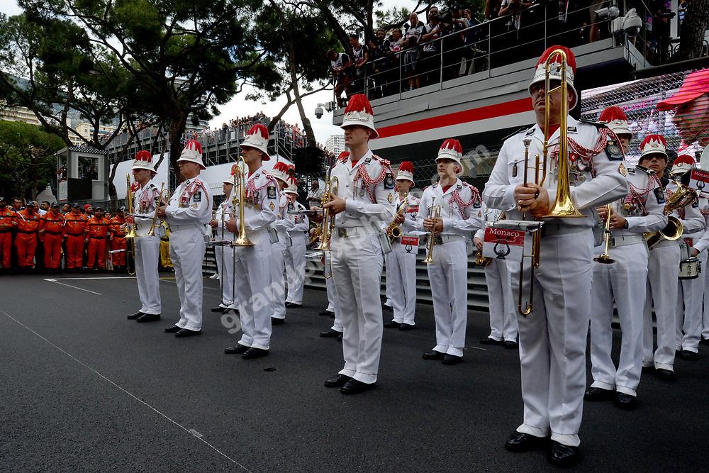 Local musicians after the 2019 Monaco Grand Prix. Photo: Grand Prix Photo