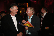 Michael Palin and Tim Brook Taylor. Opening of Spamalot at the Night Palace Theatre and afterwards at Freemasons Hall Gt. Queen St.  London. 17 October 2006. -DO NOT ARCHIVE-© Copyright Photograph by Dafydd Jones 66 Stockwell Park Rd. London SW9 0DA Tel 020 7733 0108 www.dafjones.com