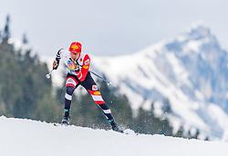 02.03.2019, Seefeld, AUT, FIS Weltmeisterschaften Ski Nordisch, Seefeld 2019, Nordische Kombination, Langlauf, Team Bewerb 4x5 km, im Bild Franz-Josef Rehrl (AUT) // Franz-Josef Rehrl of Austria during the Cross Country Team competition 4x5 km of Nordic Combined for the FIS Nordic Ski World Championships 2019. Seefeld, Austria on 2019/03/02. EXPA Pictures © 2019, PhotoCredit: EXPA/ Stefan Adelsberger